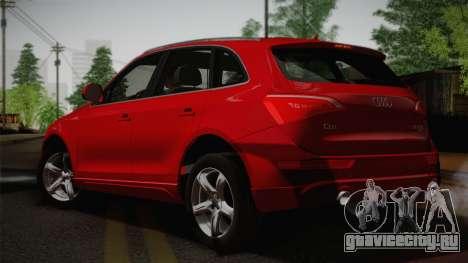 Audi Q5 2012 для GTA San Andreas вид слева