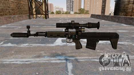 Снайперская винтовка укороченная для GTA 4 третий скриншот