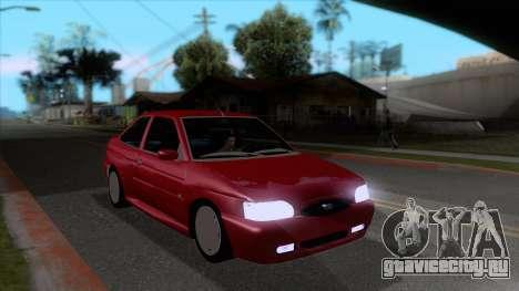 Ford Escort 1996 для GTA San Andreas вид сзади