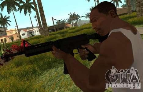 M4 CQB для GTA San Andreas третий скриншот