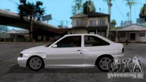 Ford Escort 1996 для GTA San Andreas вид слева