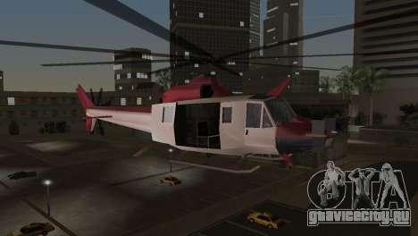 Bell HH-1D для GTA Vice City вид сзади слева