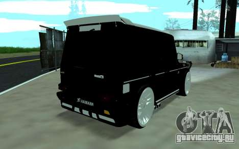 Mercedes G65 new tuninG для GTA San Andreas вид слева