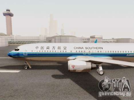 China Southern Airlines Boeing 737-800 для GTA San Andreas вид сзади слева