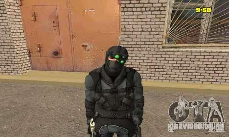 Арчер из игры Splinter Cell Conviction для GTA San Andreas