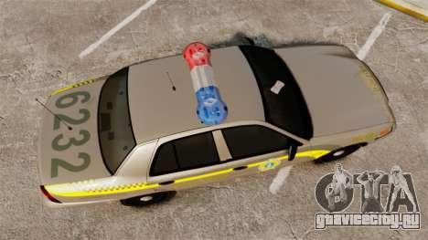 Ford Crown Victoria NLSP [ELS] для GTA 4 вид справа