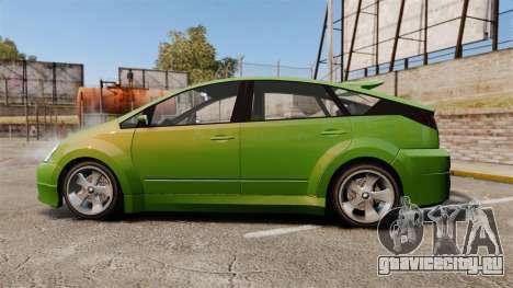 Karin Dilettante new wheels для GTA 4 вид слева