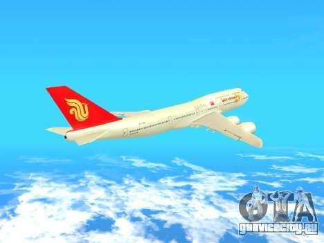 Boeing 747 Air China для GTA San Andreas вид изнутри