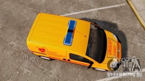 Peugeot Bipper LP EXPRESS [ELS] для GTA 4 вид справа