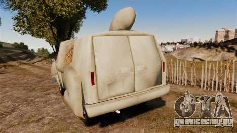 Фургон -Тупой и еще тупее- для GTA 4 вид сзади слева