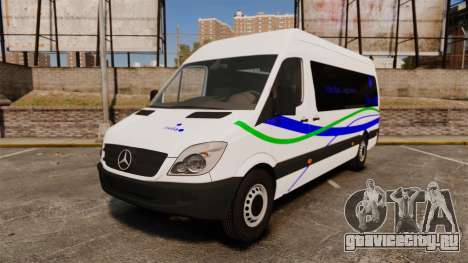 Mercedes-Benz Sprinter Itella Logistics для GTA 4