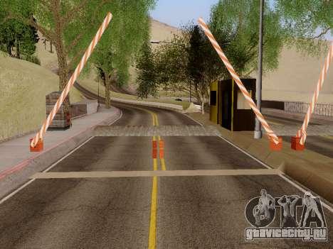 Таможня SF-LV для GTA San Andreas