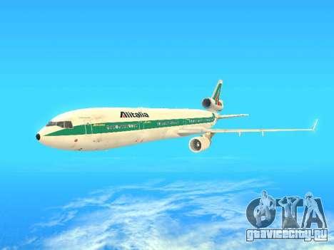 McDonnell Douglas MD-11 Alitalia для GTA San Andreas