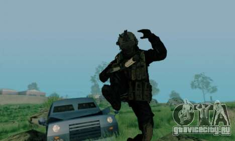 Kopassus Skin 3 для GTA San Andreas четвёртый скриншот