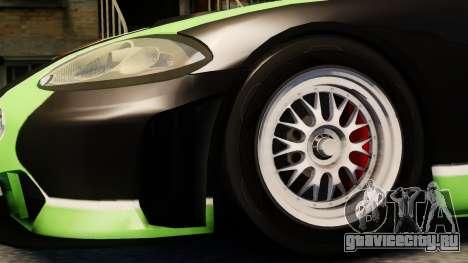 Jaguar XKR GT для GTA 4 вид справа