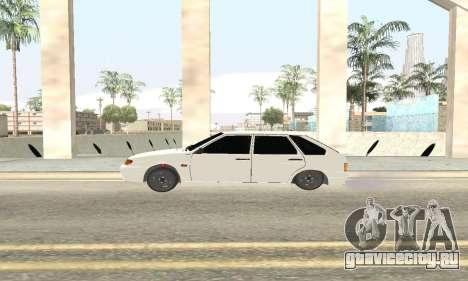 ВАЗ 2114 Avtosh для GTA San Andreas вид справа