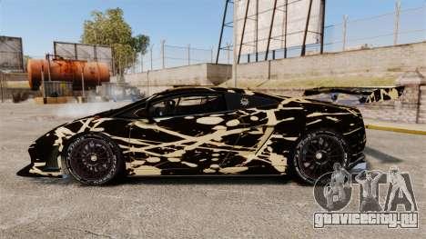 Lamborghini Gallardo LP560-4 GT3 2010 BLOB для GTA 4 вид слева