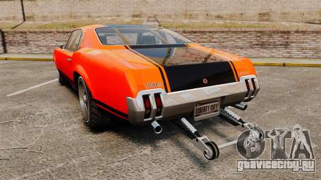 Declasse SabreGT new wheels для GTA 4 вид сзади слева