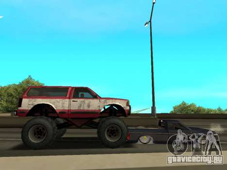 Street Monster для GTA San Andreas вид снизу