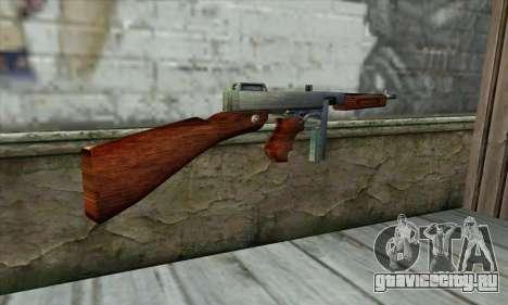 Thompson M1 для GTA San Andreas второй скриншот