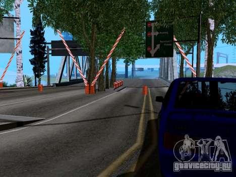 Таможня Los Santos-San Fierro v2.0 для GTA San Andreas второй скриншот