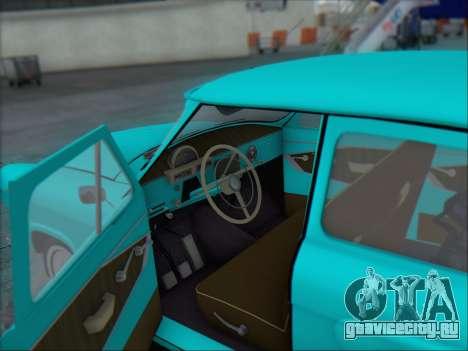 ГАЗ 21 для GTA San Andreas вид сверху