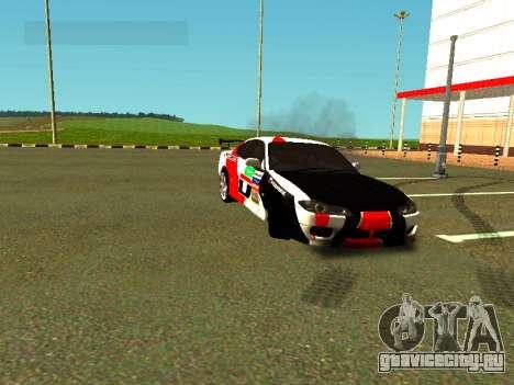 Nissan Silvia S15 Team Dragtimes для GTA San Andreas вид сбоку
