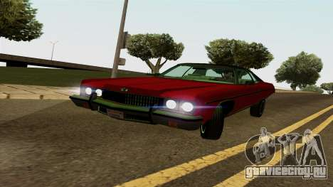 Chevrolet Caprice Coupe 1973 для GTA San Andreas вид слева