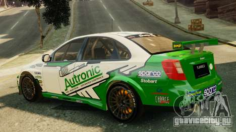 Chevrolet Lacetti для GTA 4 вид слева