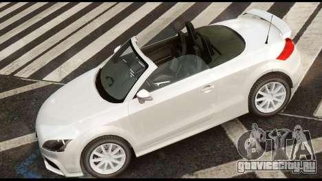 Audi TT RS v1.0 для GTA 4 вид сзади слева