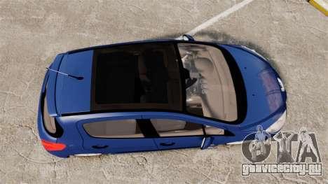 Peugeot 308 GTI для GTA 4 вид справа