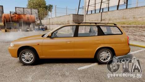 Daewoo Nubira I Wagon CDX PL 1998 для GTA 4 вид слева