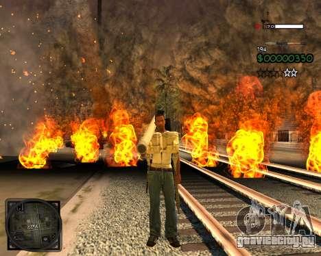 C-HUD Lite v2.0 для GTA San Andreas второй скриншот