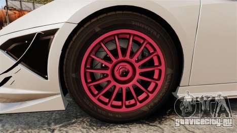 Lamborghini Gallardo LP570-4 Super Trofeo для GTA 4 вид сзади