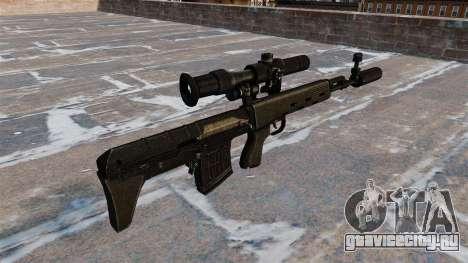 Снайперская винтовка укороченная для GTA 4 второй скриншот