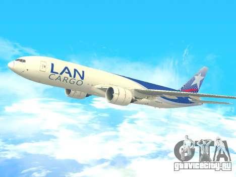 Boeing 777 LAN Cargo для GTA San Andreas