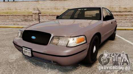 Ford Crown Victoria 2008 LCPD Detective [ELS] для GTA 4