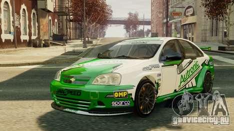 Chevrolet Lacetti для GTA 4