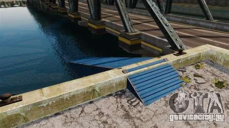 Дорога под мостом для GTA 4 второй скриншот