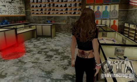 Carlita для GTA San Andreas третий скриншот