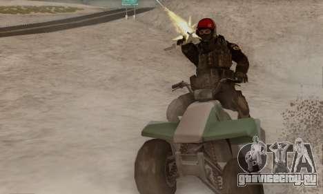 Kopassus Skin 1 для GTA San Andreas второй скриншот