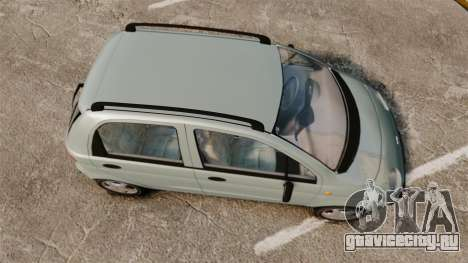 Daewoo Matiz SE 1998 для GTA 4 вид справа