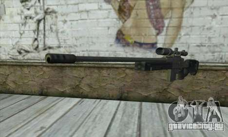 GTA V Sniper rifle для GTA San Andreas