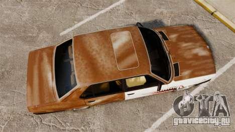 BMW 535is E28 Sharkie для GTA 4 вид справа