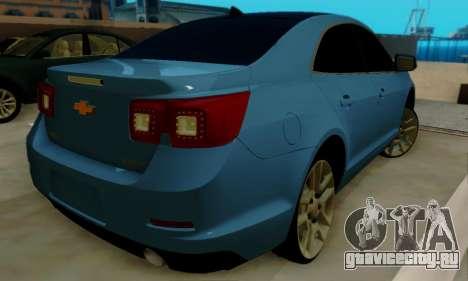 Chevrolet Malibu для GTA San Andreas вид справа