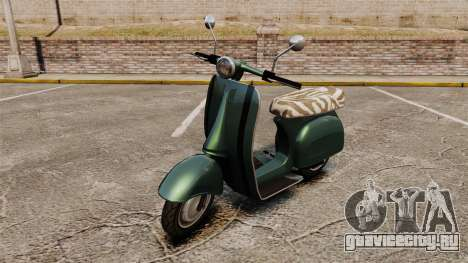 GTA IV TBoGT Pegassi Faggio для GTA 4