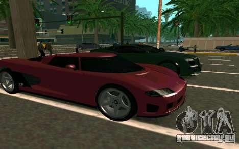 GTA V Entity XF для GTA San Andreas вид сзади
