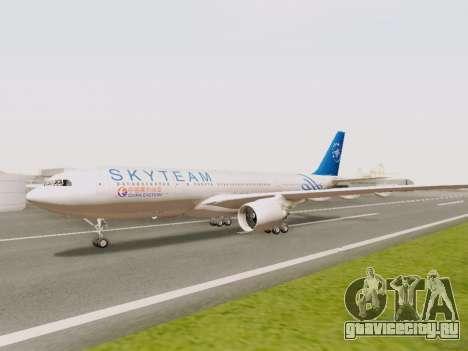 A330-202 China Eastern для GTA San Andreas