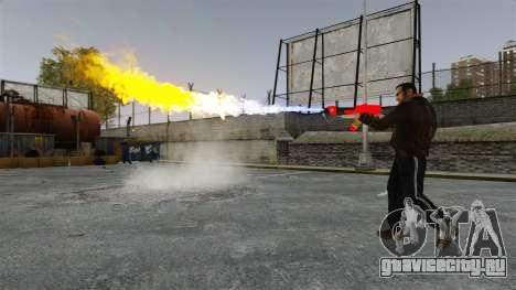 Огнемёт MX-295 для GTA 4 четвёртый скриншот
