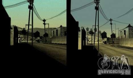 HD карта, радар и меню для GTA San Andreas